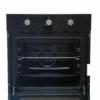 Kép 3/9 - Klass A65ESRM, Beépíthető Multifunkciós sütő, üveg,mechanikus, 60 cm fekete
