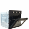 Kép 5/9 - Klass A65ESRM, Beépíthető Multifunkciós sütő, üveg,mechanikus, 60 cm fekete