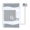 Kép 1/4 - Hunor HDU-3 DK T Parapetes Gázkonvektor Programozható Termosztáttal