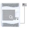 Kép 1/2 - Hunor HDU-5 DK T parapetes gázkonvektor programozható termosztáttal