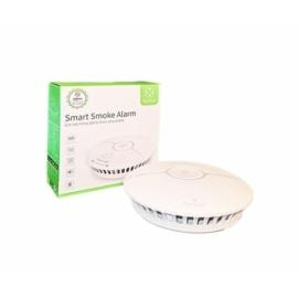 Woox Smart zigbee füstérzékelő, 85dB, fényjelzés, Zigbee 3.0, 1,5 V AAA x 2, beltéri (R7049)