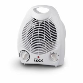 Too fh-121 ventilátoros hősugárzó fehér