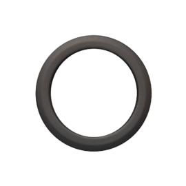 Füstcső falirózsa 130mm (1,5mm)