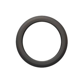 Füstcső falirózsa 120mm (1,5mm)