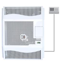 Hunor HDU-5 DK T parapetes gázkonvektor programozható termosztáttal