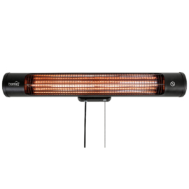 Karbonszálas fali fűtőtest, 1200 W, IPX4