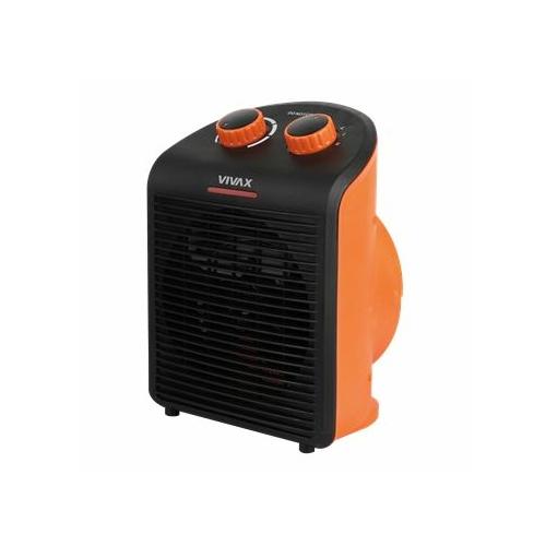 Vivax FH-2081B ventilátoros hősugárzó fekete-narancssárga